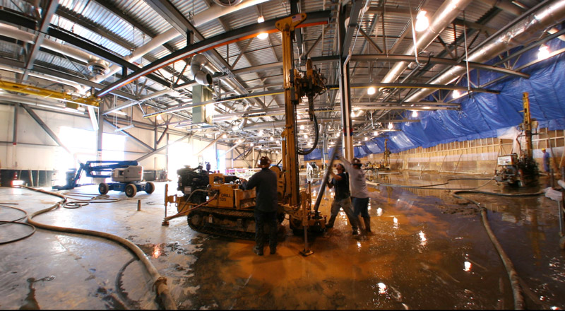 Manufacturing-Plant-low-mobility-compaction-grouting